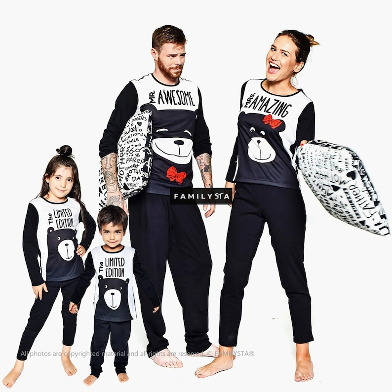 f780c94087 Matching Family Pajamas Mother And Father Pajamas Matching