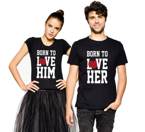 0bd826871 His And Her Shirts Matching Tees Couple Tees Couple   Etsy