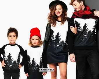 Christmas Family Sweaters, Matching Family Outfit, Christmas Set, Matching Family Sweatshirts, Christmas Outfit, Holiday Sweaters, Xmas
