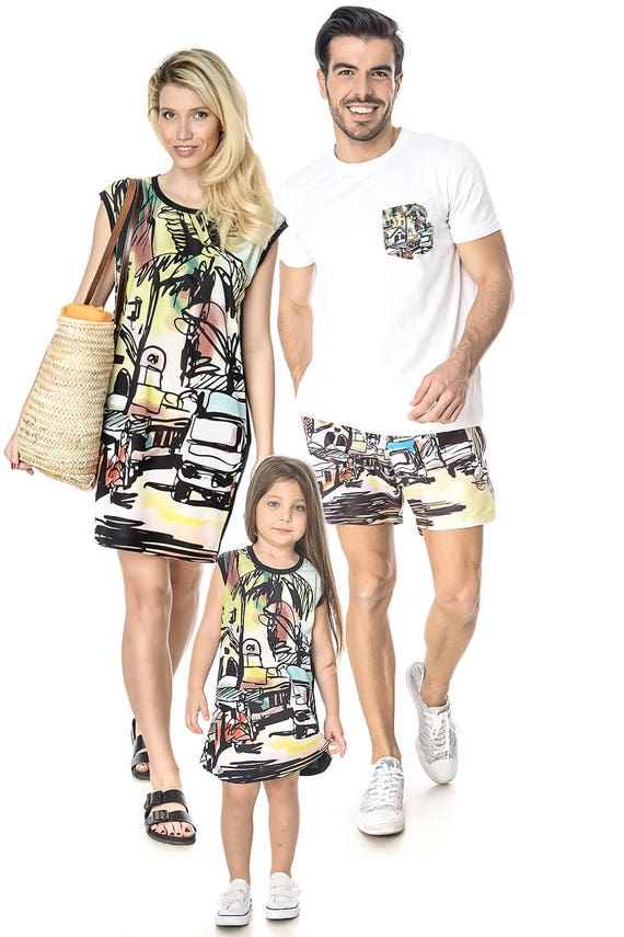 Swimsuit Dress Outfit Me Daughter Mommy Tropical Mother Dress Matching Mother Gift Matching Mom And Set Dress Gift Mothers Daughter nHx08pf