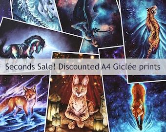 Seconds Sale - Slightly damaged | Imperfect A4 Prints