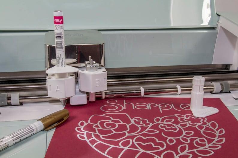 Sharpie Oil Based Paint - Ultimate Cricut Explore/Maker Adapter