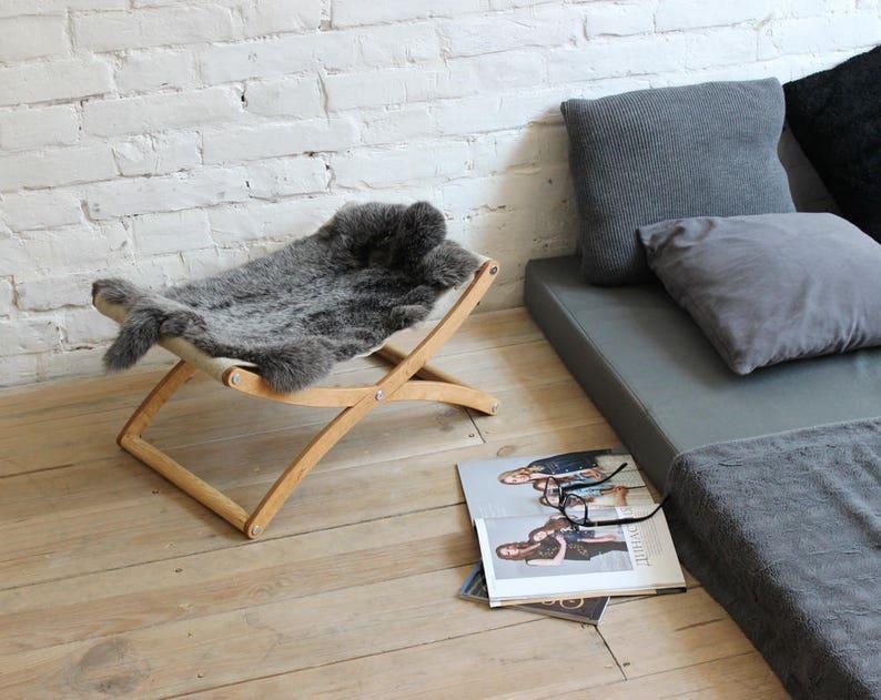 Cat hammock  X cat bed Lapin. Cat furniture cat beds cat image 1
