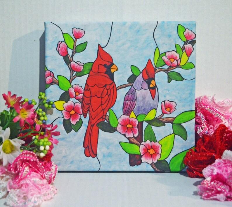 Cardinal Decor Cardinal Art Cardinal Bird Cardinal Gifts image 0