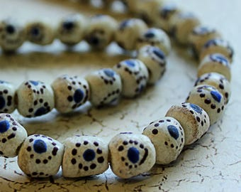 African Sandcast Beads from Ghana - ASC-021