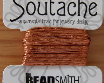 Copper Metallic The Bead Smith Soutache - STR 238