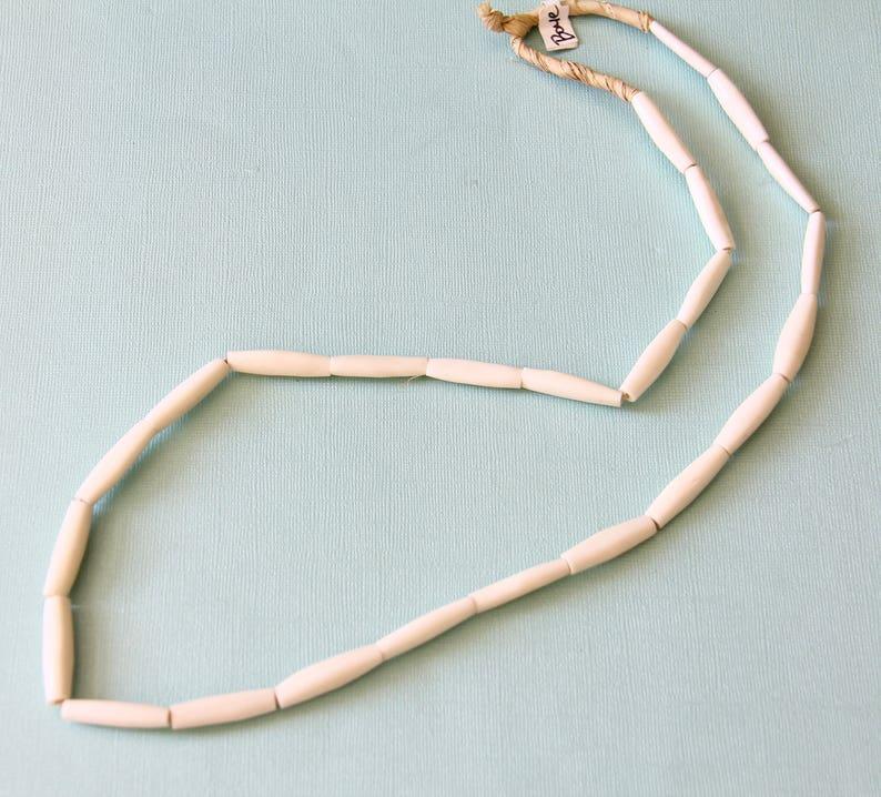 Oblong Bone Beads B+H 031