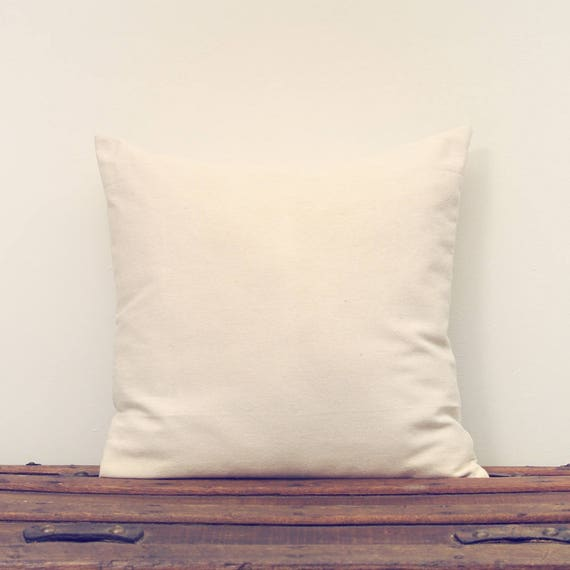 Simple Cotton Cream Colored Pillow Cover Special Sale  53b7b5eea51c