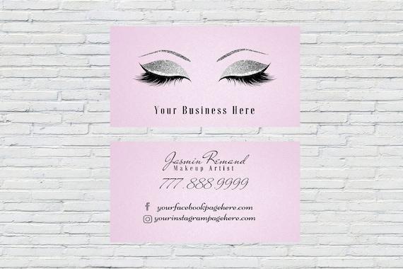 image 0 - Eyelash Business Cards