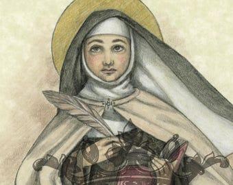 Saint Teresa of Ávila Art Print