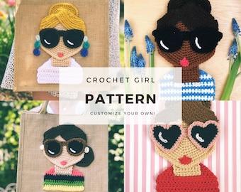 Colleen Lynch - Crochet Doll Applique - English-Communication Area ... | 270x340