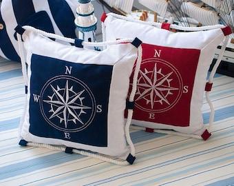Anchor Pillow Etsy