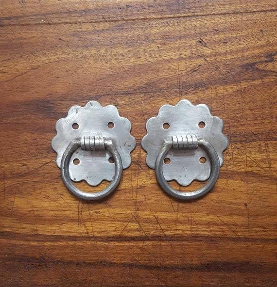 Hammock Hardware Decorative Hanging Rings Rusty Iron Wall   Etsy