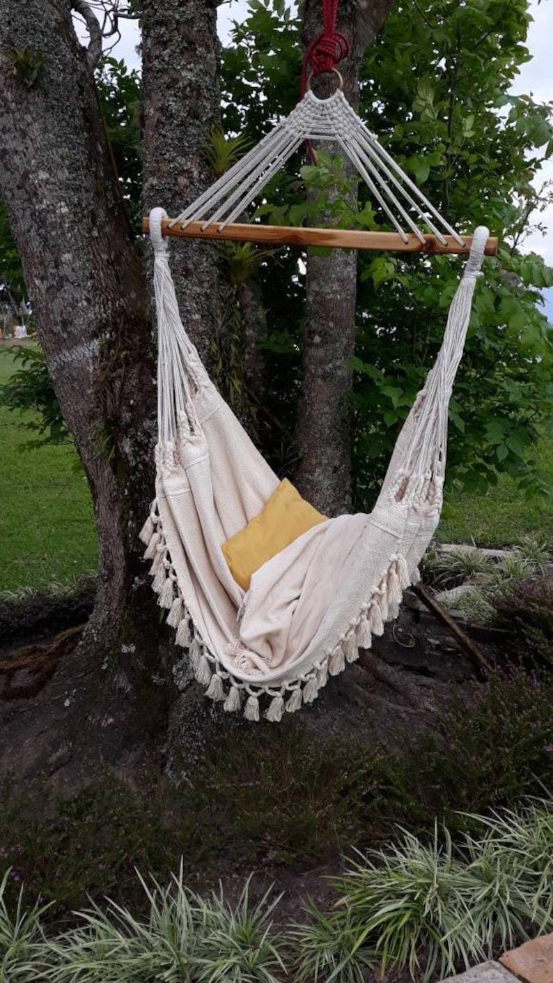 Luxury Hammock Chair 6 Feet Long Extra Big Hammock Chair Etsy