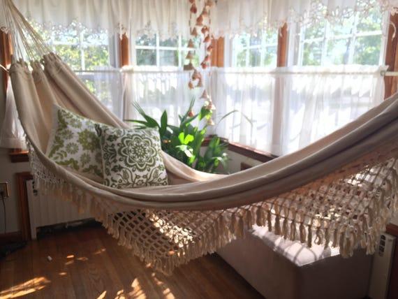 Hamac blanc, décoration d\'intérieur, décoration de mariage ...