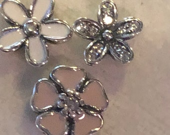 9cf3b5344 Pandora Charms, Poetic Bloom Flower Petite Charms, Locket Charms, Floral  Charms, Authentic