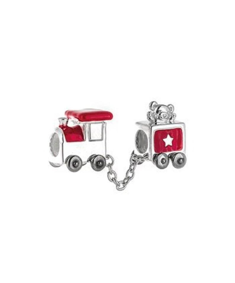 e2675b08e Authentic Chamilia Red & Sterling Silver Firetruck Bead | Etsy