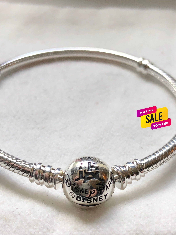Pandora Bracelet, Disney FantasyLand Castle Bracelet, Disney Parks, Pandora  Disney, Disney,, Fathers Day Gift