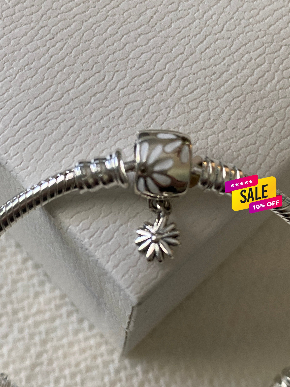 Pandora Bracelet Daisy Flower Clasp Bracelet Floral Etsy