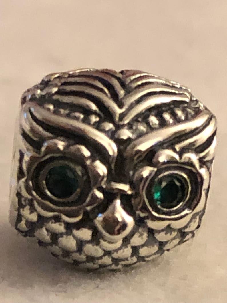 87810419e Pandora Charms Wise Owl Charm Animal Charms Bird Charms | Etsy