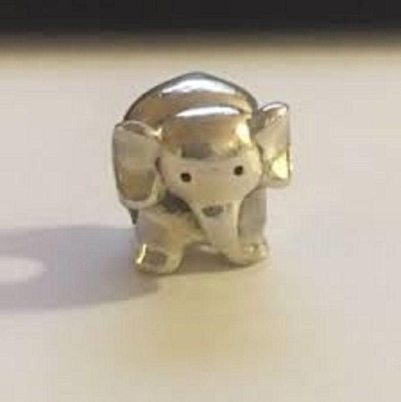 67016eee9 Pandora Charms African Elephant Charm Bead Animal Charms | Etsy