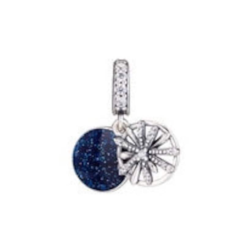 3d132a0c2 Pandora Charm Dazzling Wishes Dangle Charm 797531CZ | Etsy