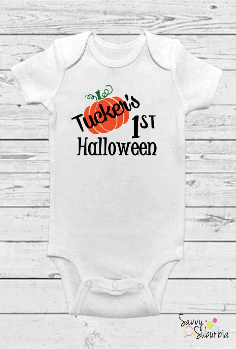 e43eeb427 Baby Onesie / First Halloween Onesie / Halloween Onesie / | Etsy