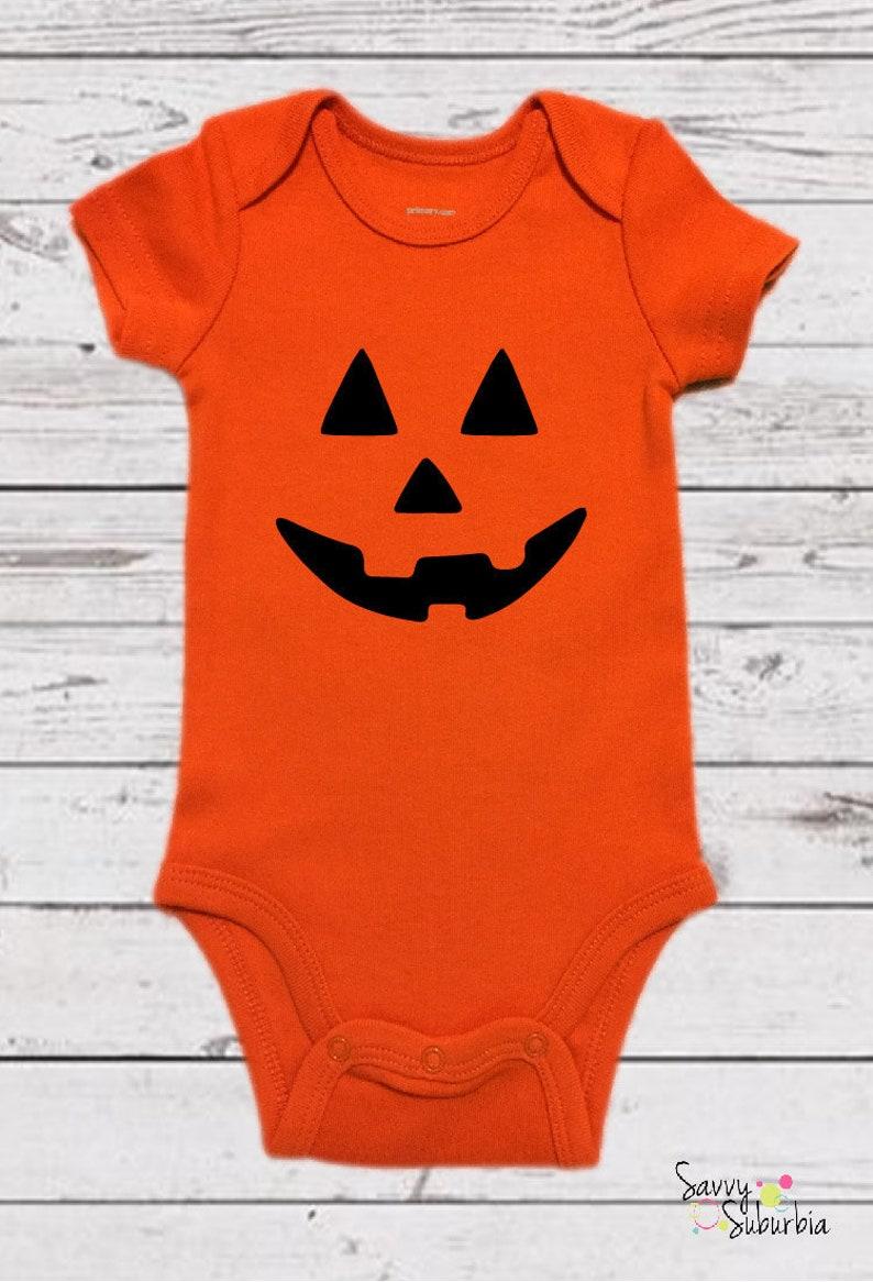 7e0b8bd2c Baby Onesie / Pumpkin Onesie / Pumpkin Body Suit / Jack o | Etsy