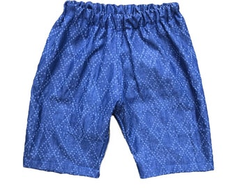 Chambray boys shorts