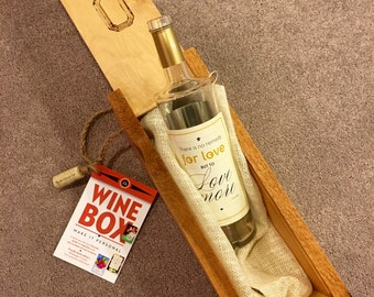 Wine Box Handcrafted by JJs
