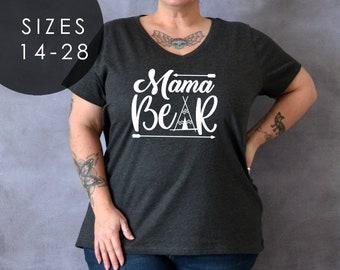 ce21cc72ad3 Mama bear t shirt