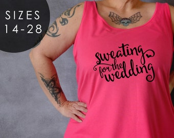 e66fd18d834 Sweating for the Wedding Tank Top