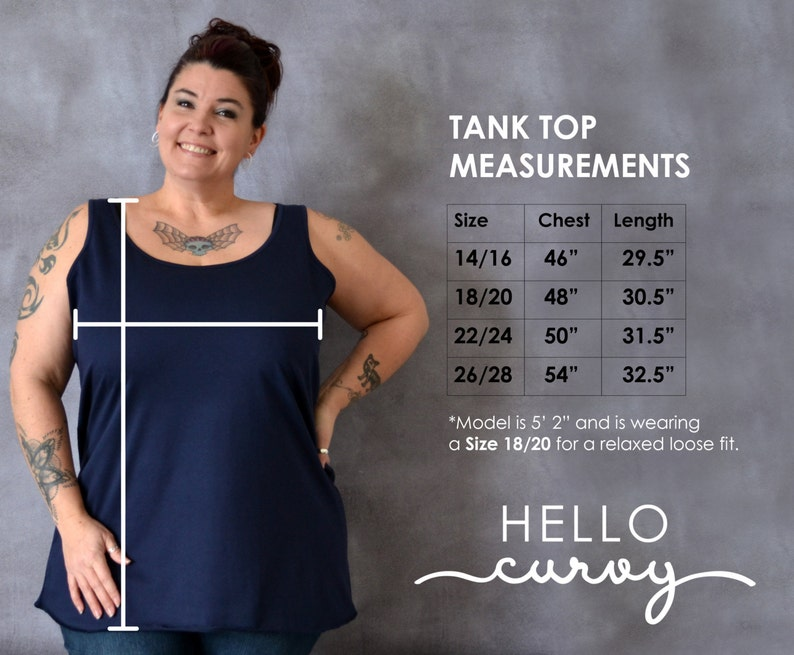 6406fc43c3f521 Everything Hurts and Im Dying Tank Top Plus Size Workout