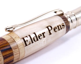 Add-on engraving charge   Only engraving fee for wooden pen   Add this item to have your pen engraved.