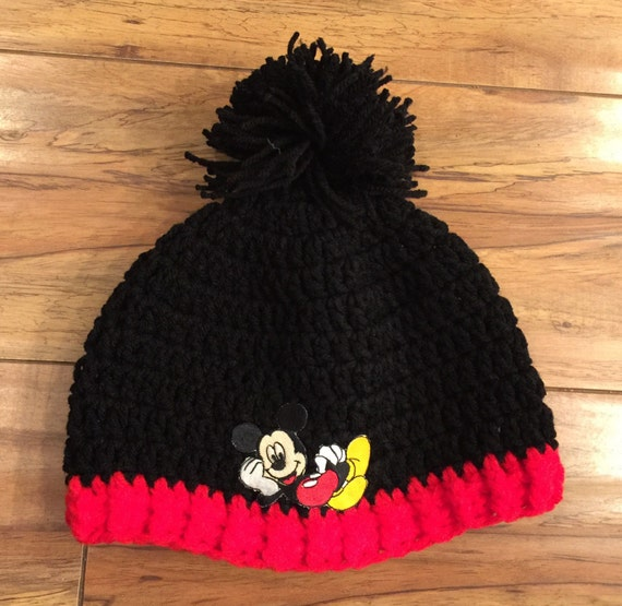Disney Inspiriert Mickey Mouse Mickey Mouse Mütze Häkeln Etsy