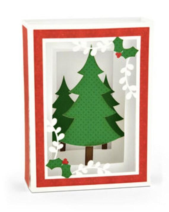 Christmas Greeting Cards Handmade.3d Christmas Card Handmade Christmas Card Shadowbox Card Holiday Card Christmas Tree Holiday Card Xmas Card Pop Up Card Greeting Card