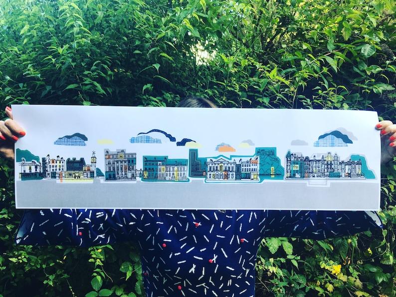Canvas print  Edinburgh Streets image 0