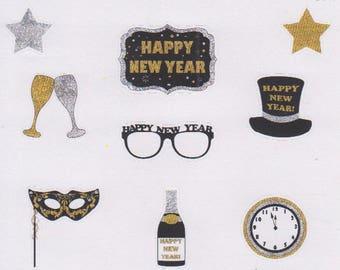 New Years Eve | 674 | Planner Stickers | Kikki-K | Happy Planner | Erin Condren