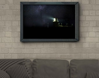 Milkyway Lighthouse - Fine art Photography Print *Unframed*