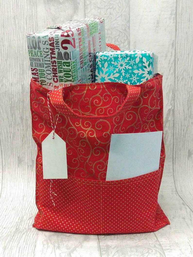 98d862db6dd7a Weihnachten Geschenk Tasche oder markttasche. Kurz behandelt