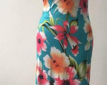 Island Gal off shoulder maxi dress