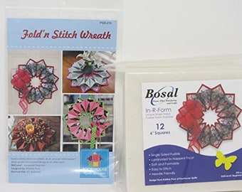 BOSAL FOAM STABILIZER 437-12B FOR FOLD/'N STITCH BLOOMS  by Poorhouse Quilts