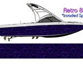 Retro 80s IS Boat Wrap 3M IJ180 Cast Wrap Vinyl Film