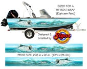 Tarpon Shallows Custom Boat Wrap Design