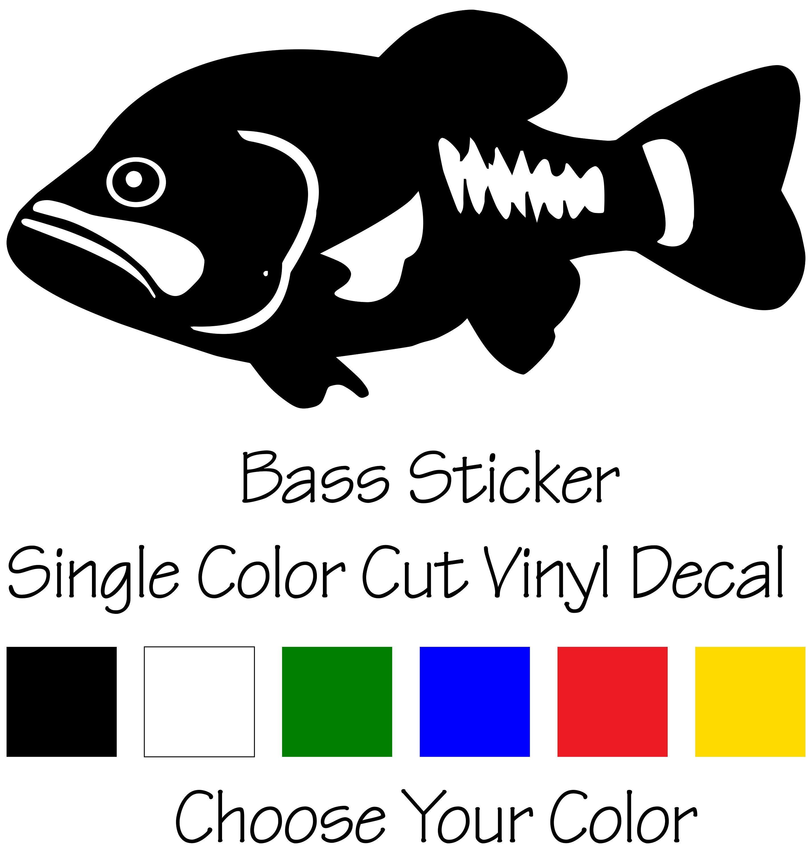 Cut Vinyl Fish