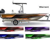 Warrant Wakeboarding Boat Wrap 3M Cast Wrap Vinyl