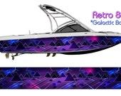 Retro 80s GB Boat Wrap 3M IJ180 Cast Wrap Vinyl Film