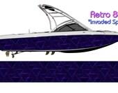 Retro 80s IS Boat Wrap 3M IJ180 Cast Wrap Vinyl Film