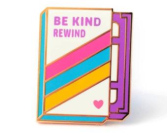 VHS Retro Video Tape - Cute Hard Enamel Pin - Cute Lapel Pin Gift