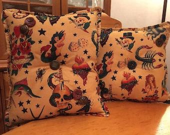 Custom Sailor Jerry Pillow Sham